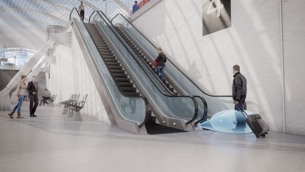 escalators sensors solutions